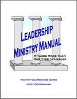 Leadership Ministry Manual