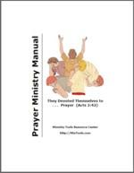 Prayer Ministry Manual