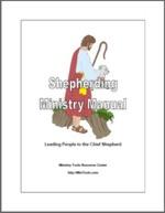 Shepherding Ministry Manual