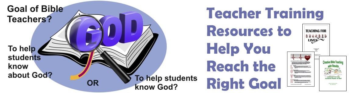 Teacher Training Resources