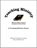 Teaching Ministry Manual
