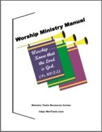 Worship Ministry Manual