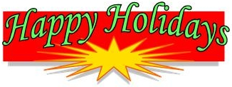 Happy Holidays - A Time to Reach Out