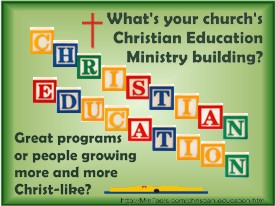 Church Christian Education Ministry