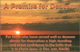 Responsibility of Deacons & Deaconesses in the Church