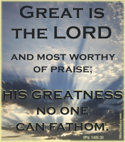 Great is the Lord - God is Greater Than You