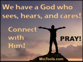 Connect with a Personal God in Prayer