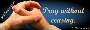 God Commands Us to Pray, Prayerlessness not an Option