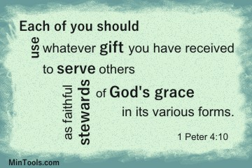 Spiritual Gifts are Expressions of God's Grace