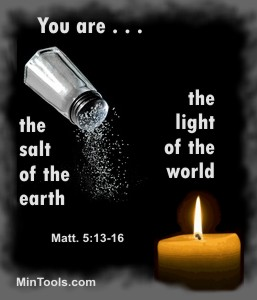 Consideration & Compassion as Salt & Light in World