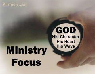 Ministry Focus on God
