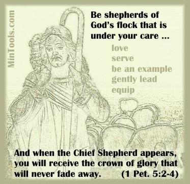 Shepherding Responsibilities Apply to Support Groups