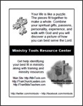 For Leadership to Share Training at Ministry Tools Resource Center