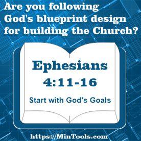 God's Goals for Body Life