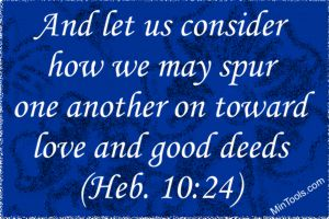 Use Spiritual Gifts to Spur One Another on to Serve