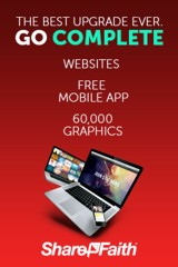 ShareFaith Complete - website, graphics, web app