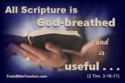All Scripture is God-breathed, Inspired