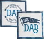Number One Dad Handkerchief Set