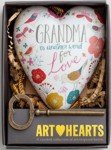 Grandma Is Another Word for Love Heart Sculpture