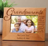Personalized Frame for Grandparents