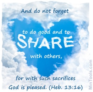 Do Good & Share with Others