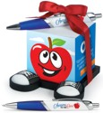 Apple Note Cube & Pen Gift Set