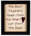 The World's Best Teach from the Heart Sign