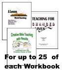 Teacher Training Workbook Bundle